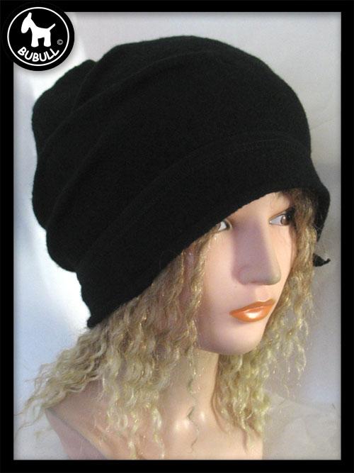 eur bonnet noir laine ref 1124 bonnets. Black Bedroom Furniture Sets. Home Design Ideas
