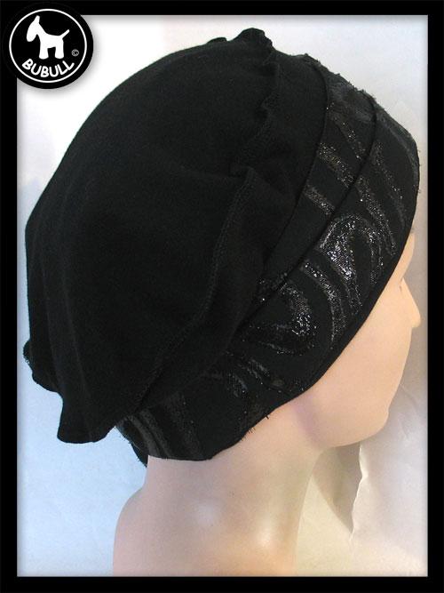 beret coton jersey noir ref 1129. Black Bedroom Furniture Sets. Home Design Ideas
