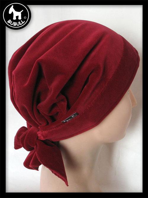 foulard hiver rouge velours ref 1135. Black Bedroom Furniture Sets. Home Design Ideas