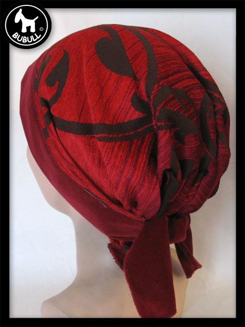 foulard rouge velours ref 1136. Black Bedroom Furniture Sets. Home Design Ideas