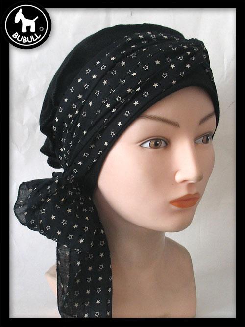 turban b ret noir ref 1234. Black Bedroom Furniture Sets. Home Design Ideas