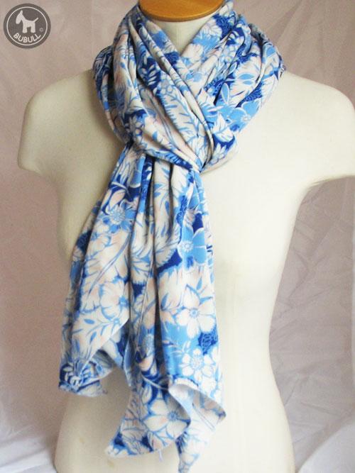 3b640ba6773 Etole foulard blanc et bleu ref 1303 bubull.fr