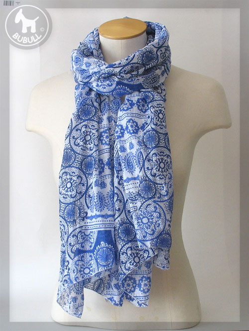 32dae26bf89 etole foulard blanc et bleu ref  1303 etoles foulards