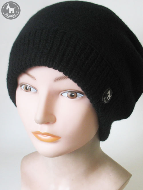 bonnet noir femme ref 1594. Black Bedroom Furniture Sets. Home Design Ideas