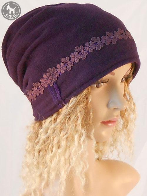 original meilleur prix dernière sélection Bonnet violet fillette