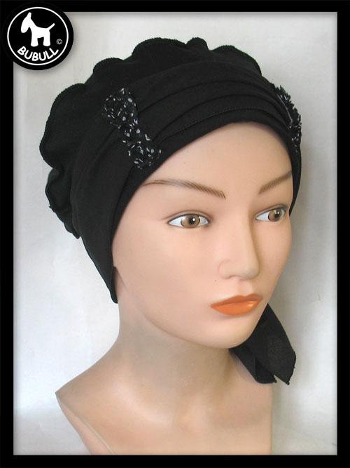 beret coton noir ref 935. Black Bedroom Furniture Sets. Home Design Ideas